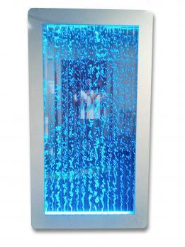Вертикальная напольная пристенная пузырьковая панель белый корпус 2 метра